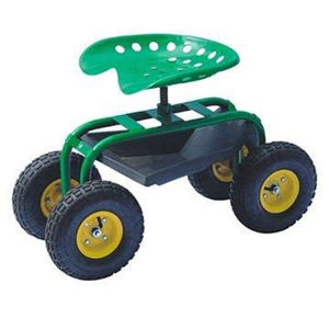 Factory Outlets Center Multipurpose Mobile Garden 4 Wheels Tool Cart pictures & photos