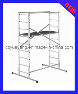 Aluminium Indoor Scaffolding Tower System (H-1) pictures & photos