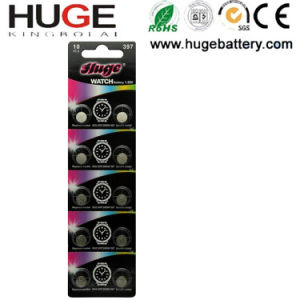 1.55V Silver Oxide Battery Watch Battery Sg2 Sr726sw 397 pictures & photos