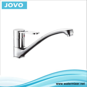 Sanitary Ware Nice Design Single Handle Kitchen Mixer&Faucet Jv73406 pictures & photos