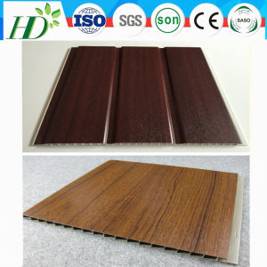 Wooden Color Laminating PVC Ceiling Panels House Inner Decoration (RN-147) pictures & photos