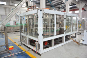 Stable Glass Bottle Beer Filling and Botting Plant System pictures & photos
