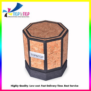 New Coming Octagon Barky Paper Candle Boxes pictures & photos