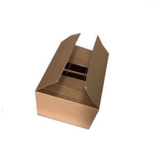 Custom Corrugated 12 Bottles Wine Packaging Box pictures & photos