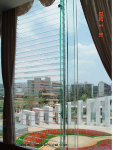 Tempered Laminated Clear Glass Louvre pictures & photos