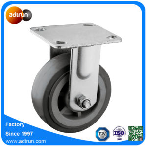 """Heavy Duty 5 X 2"""" Fixed Industrial Casters PU Wheel pictures & photos"""