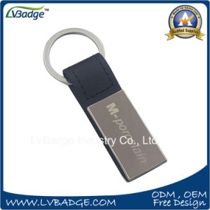 Hot Sale High Quality Leather Keychain with Custom Logo pictures & photos
