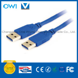 High Speed USB a Male to a Male Cable pictures & photos