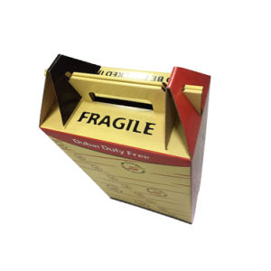 Paper Box with Plastic Handle for Wholesale pictures & photos