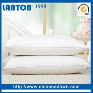 Hypoallergenic 20% Filling Down Feather Pillow for Home & Hotel pictures & photos