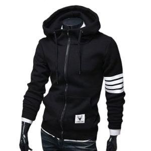 Hot Fashion Men Hoodies Fleece Hoodie with Zipper pictures & photos
