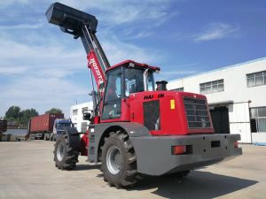 Strong Articulated 3.0 Ton Telescopic Telehandler (HQ930T) with CE, SGS pictures & photos