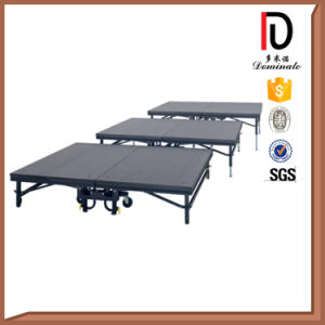 Red Carpet Metal Frame Portable Mobile Stage Br-St016 pictures & photos