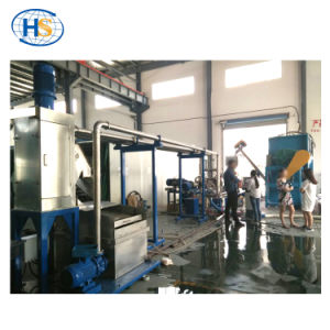 Haisi Extrusion Parallel Double Screw Extruder with Bimetallic Screw pictures & photos