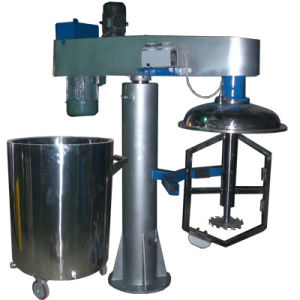 High Viscosity Liquid Mixer Hydraulic Lifting Manufacturer pictures & photos