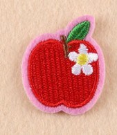 Cheap Clothing Female Patches Under 0.1USD Embroidered Patch for Men Carrot Apple Cheery pictures & photos