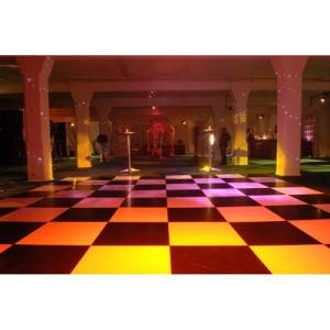 Black / White Colour Dance Floor for Wedding Decoration pictures & photos