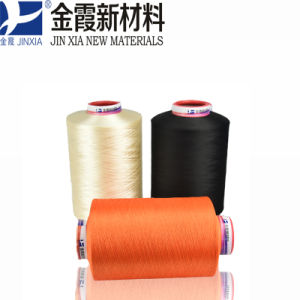 100d96f Polyester Filament Yarn Dope Dyed Super Fine Denier Filament pictures & photos