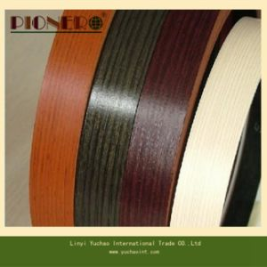 Embossed Wood Grain PVC Edge Banding for Furniture Accessories pictures & photos