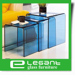 Frosted Glass Table Sets in Drop Packing pictures & photos