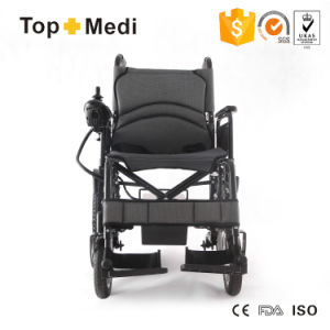 Topmedi Best-Selling Folding High Loading Electric Power Wheelchair China pictures & photos