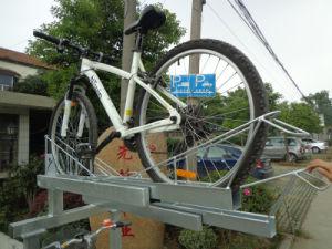 Galvanized Double Deck Parking Bike Rack pictures & photos