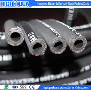 Smooth / Cloth Surface Industry Rubber High Pressure Hydraulic Hose pictures & photos