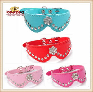 PU Pet Collars/Bow Tie/Dog Cat Collars/Leashes (KC0060) pictures & photos