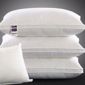 Hotel Down Pillow & Down Alternative Hotel Pillow Cotton White Pillow pictures & photos