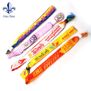 Fashion Custom Festival Woven Wristband for Events pictures & photos