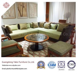 Outdoor Hotel Furniture for Living Room Corner Sofa (YB-F-009) pictures & photos