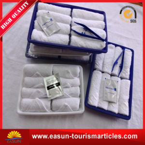Disposable Airplane Cleaning Cotton Towel pictures & photos