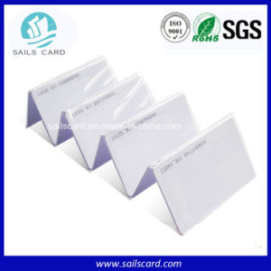 Factory Price 125kHz Blank PVC ID Card with Tk4100/Em4102 Chips pictures & photos