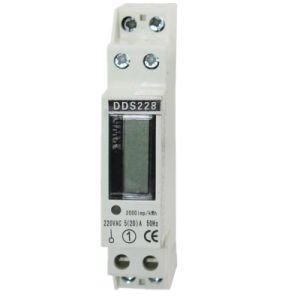 Single-Phase 1p Modular Kwh DIN Rail Meter 32A pictures & photos