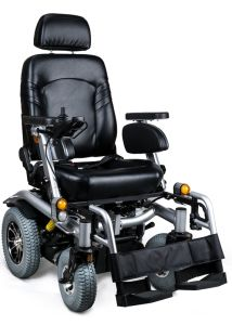 Enjoycare 55ah Electric Power Wheelchair with Taiwan Motor pictures & photos