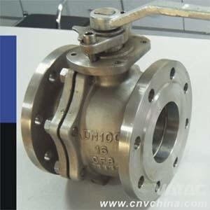 Vatac Flange Cast Steel Manual Floating Ball Valve pictures & photos