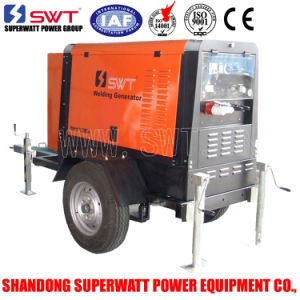 8kVA 50Hz Portable Multi-Function Soundproof Weilding Genset/Generating Set/Diesel Generator Set by Perkins Power