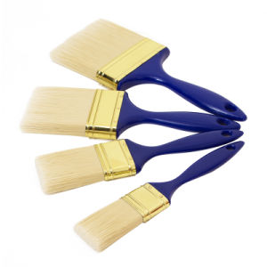 Beavertail Paint Brush with Plastic Handle B030 pictures & photos