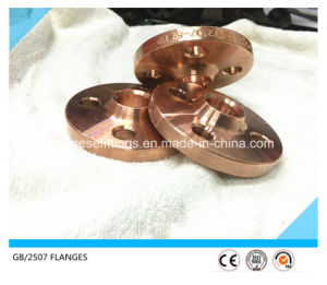 CuNi 90/10 Cooper Alloy Steel Weld Neck Flange pictures & photos