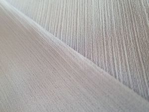 High Quality Pleats Polyester Chiffon for Fashion Garment pictures & photos