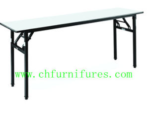 Folding Rectangle Plywood Table (YC-T174) pictures & photos