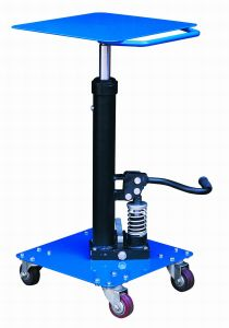 Mobile Hydraulic Lifting Table Trolley pictures & photos