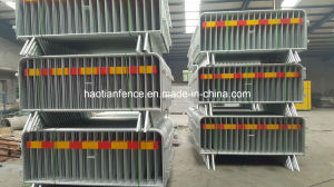 Flag Barrier for Access Control, Pedestrian Control Barrier, Crowd Control Barrier pictures & photos