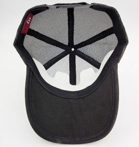 Quality Straw 6 Panel Baseball Summer Cap with Velcro Closing Backside pictures & photos