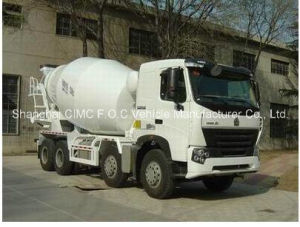 Sinotruk HOWO A7 8*4 Special Vehicle Mixer Truck pictures & photos