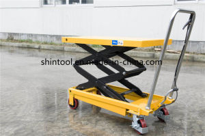 150kg Mini Scissor Lift Table Sps150 with Max Height 1100mm pictures & photos