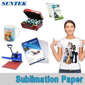 A3 A4 Roll Polyester Fabric Sublimation Heat Transfer Printing Paper pictures & photos