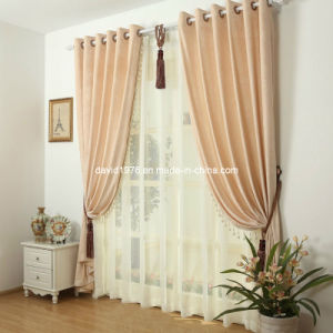 Thermal Insulated Luxury Chenille Grommet Panel/Curtain (SZSMECP003)