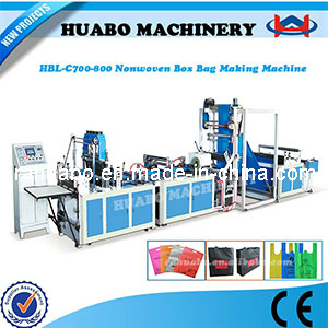 PP Non Woven Bag Making Machine (HBL-C 600/700/800) pictures & photos