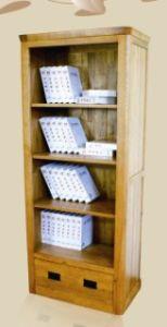 Solid Wood Oak Furniture- Bookcase